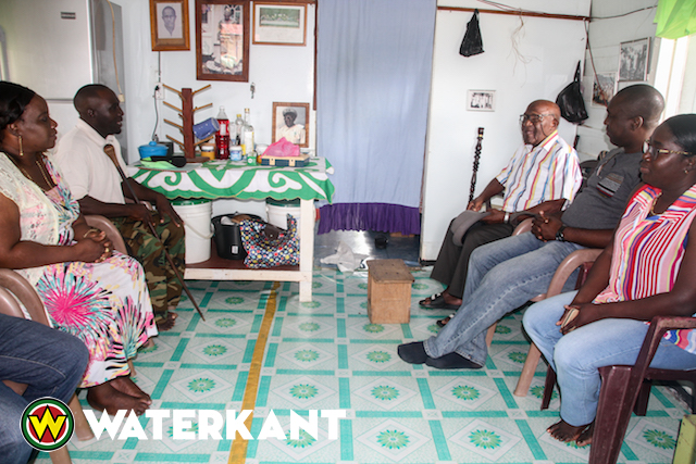 Minister RO bezoekt hoofd Basja van Pokigron