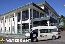 Politie bus in Suriname