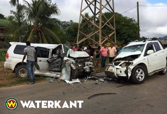 Zware aanrijding eist 69ste verkeersdode in Suriname