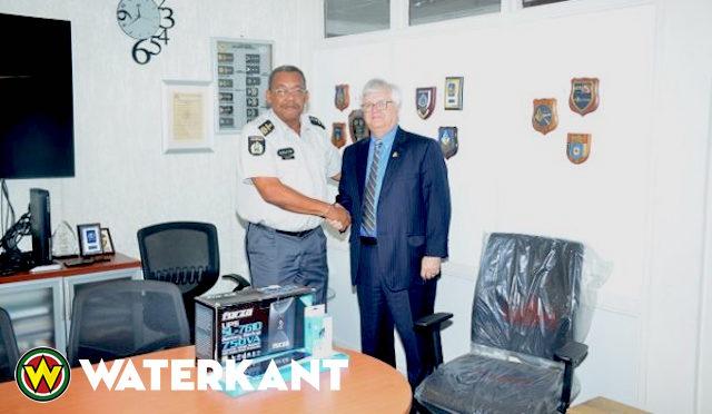 Ambassadeur VS ontmoet Korpschef van Politie Suriname