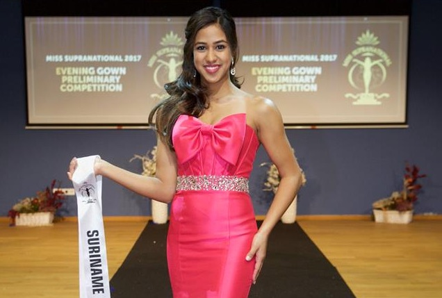Suriname op internationale Miss verkiezingen