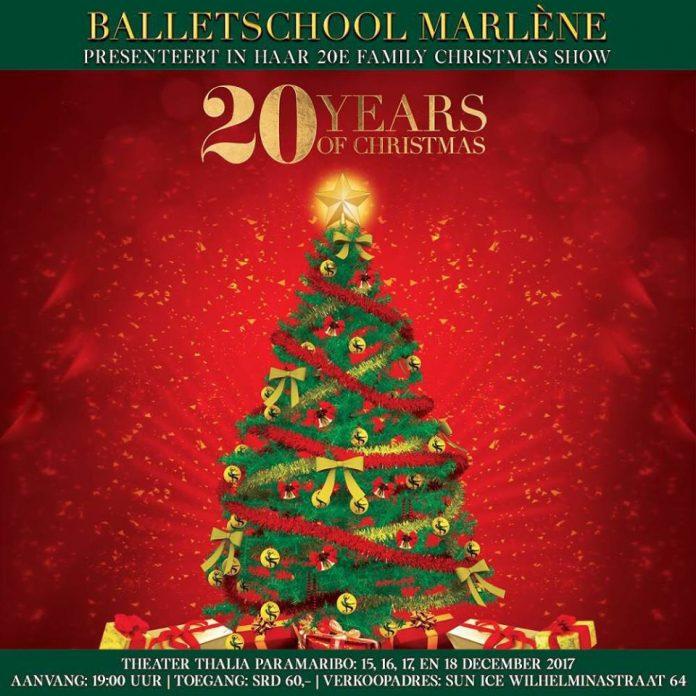 Jaarlijkse Family Christmas Show van Marlène's dansschool