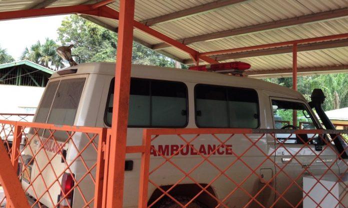 Gezondheidswerkers Medische Zending Brownsweg leggen werk neer