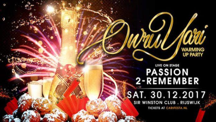 Vanavond, zaterdag 30 dec: Owru Yari Warming-up Rijswijk