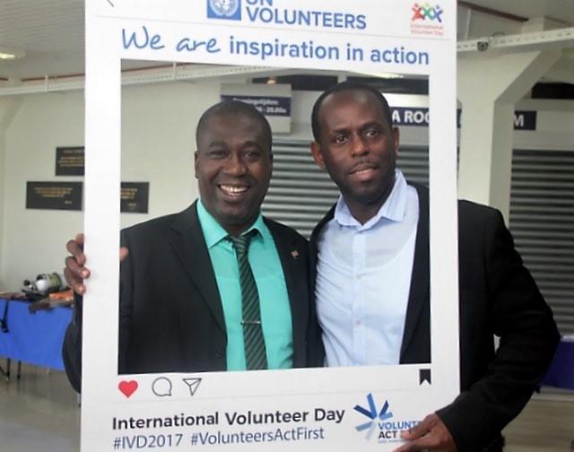 Viering Internationale Vrijwilligers Dag in Suriname