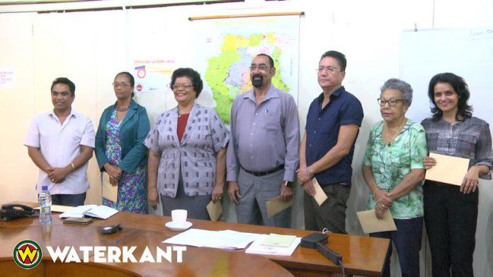Installatie Raad van toezicht van het Pensioenfonds Suriname