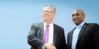 Topman Iamgold krijgt toponderscheiding van Suriname