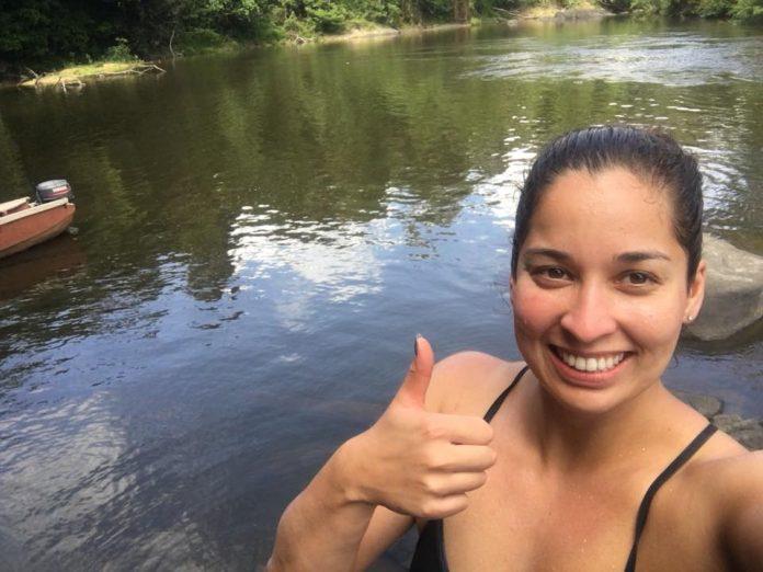 Ranomi Kromowidjojo heeft genoten van vakantie in Suriname