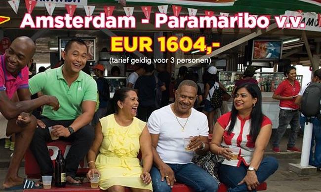 Weer 3 halen, 2 betalen SLM aanbieding naar Suriname