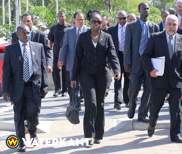 Ex-minister Alice Amafo sinds 2015 niet gezien bij ABOP