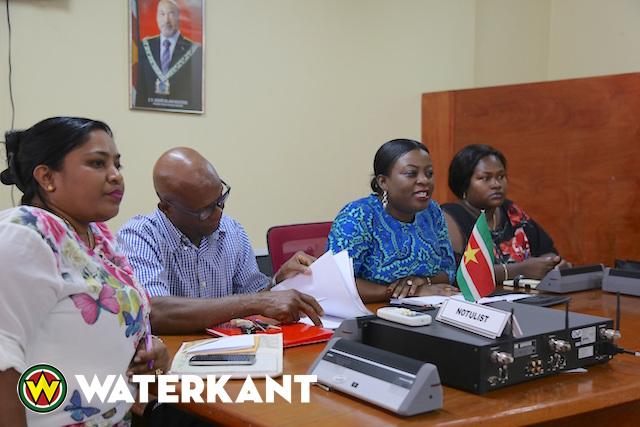 Dialoog ministerie met Nationaal Jeugdparlement Suriname