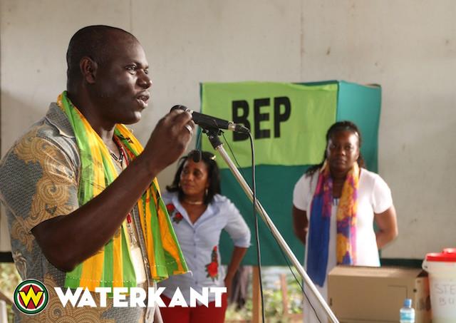 Ronny Asabina nieuwe voorzitter van partij BEP in Suriname