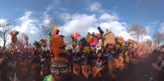 'Afrika-parodie' carnavalsvereniging valt verkeerd