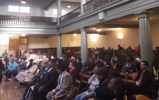Meeting (ex)Rijksgenoten over AOW-gat druk bezocht