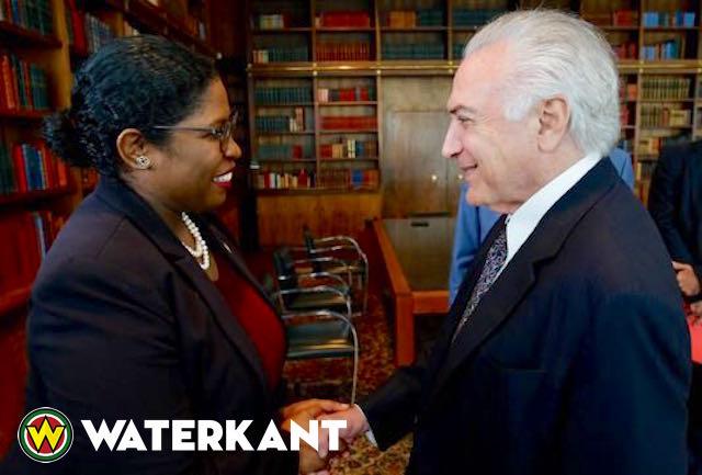 Minister BuZa Suriname ontmoet president Brazilië