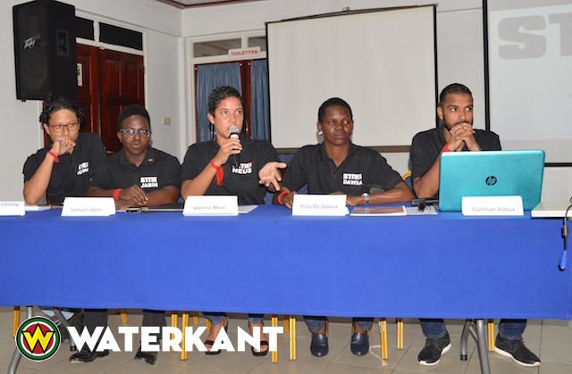 Nieuwe politieke partij in Suriname: Strei!
