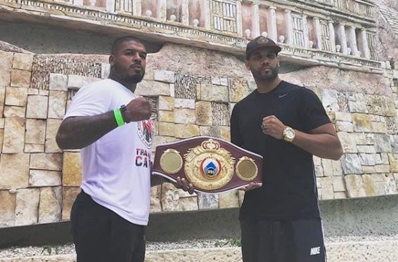 Tyrone Spong verdedigt bokstitel in Mexico