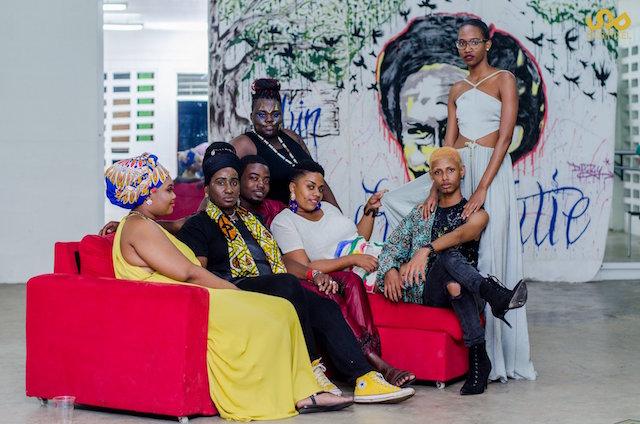 Creatief festijn van Platform Support Suriname