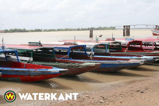 Ook boten blijven aan de kade tijdens actie OBS