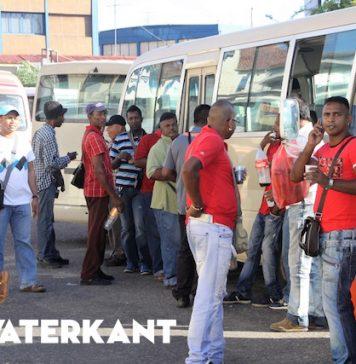 Derde dag waarop er geen schoolvervoer in Suriname is