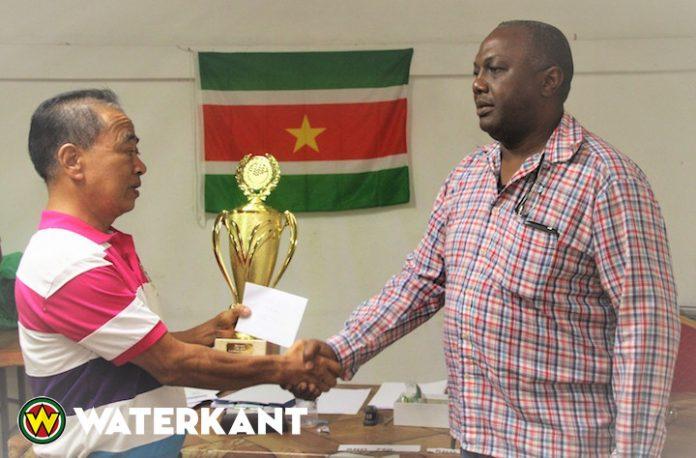 Johannes Alfaisie nieuwe damkampioen van Suriname