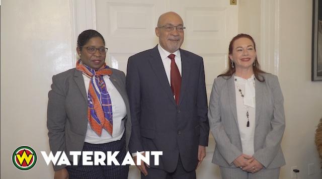 Minister BuZa van Ecuador op bezoek in Suriname