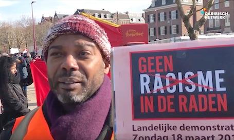 Demonstratie tegen racisten en racisme in de politiek