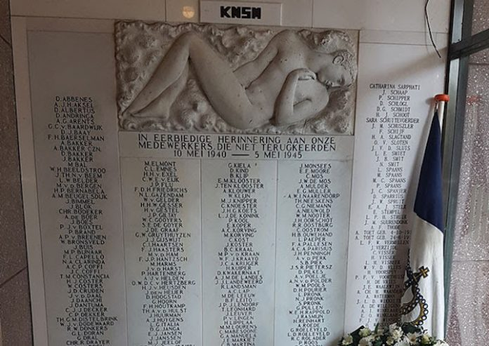 Herdenking Surinaamse en Antilliaanse zeelieden in 2e Wereldoorlog