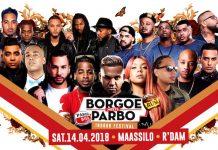 BORGOE -meets- PARBO Indoor Festival op zaterdag 14 april in Rotterdam