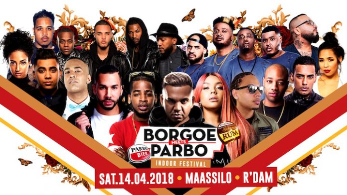BORGOE -meets- PARBO Indoor Festival op zaterdag 14 april in Rotterdam