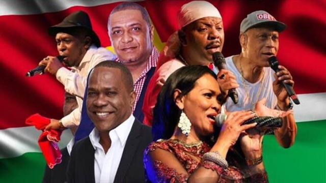 Kaseko in concert naar Suriname