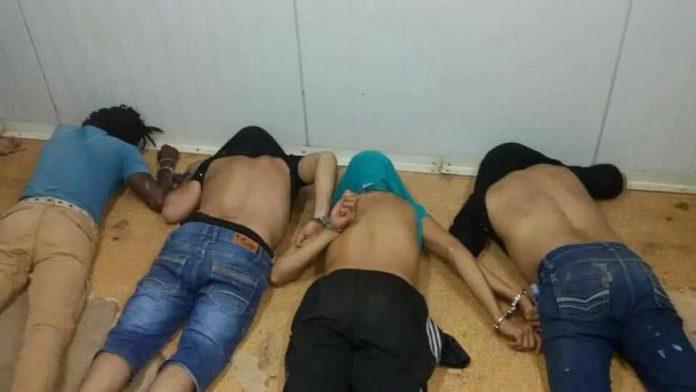 Politie Suriname houdt 4 zware criminelen aan