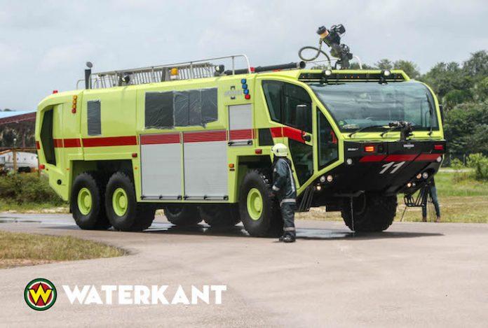 Nieuwe brandweerwagen voor luchthaven kost 744.000 US dollar