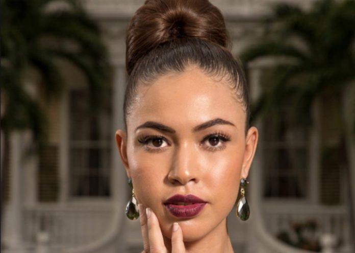 Daphne Veldkamp uit Suriname 2e op Caribbean Next Top Model