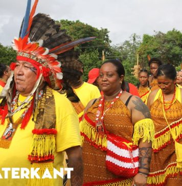 Sfeerbeelden van de Avondvierdaagse in Suriname