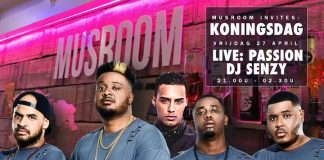 Koningsdag: Musroom invites PASSION & Senzy