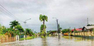 Zware regenval tijdens Paasdagen zorgt voor overlast
