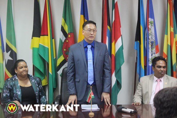 Ministeries van Handel en Justitie Suriname samen tegen misdaad