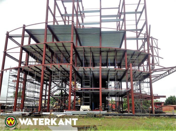 Dit wordt binnenkort het hoogste gebouw van Suriname