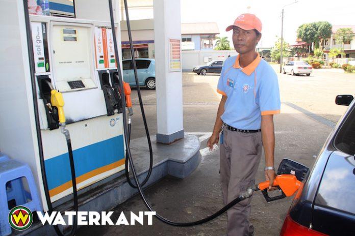 Benzine aan de pomp ook duurder in Suriname
