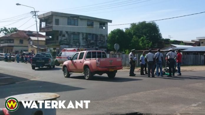 Voertuig NV Energie Bedrijven Suriname betrokken bij dodelijke aanrijding