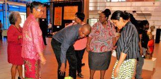 Expositie in Suriname: 'De creatieve handen van Magreth'