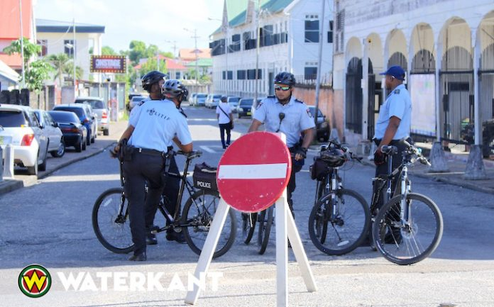 Wegafsluiting vanwege Krijgsraad zitting Decembermoorden Suriname