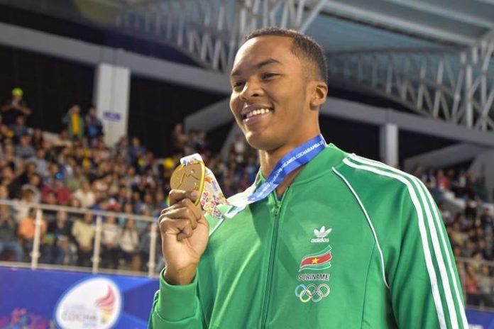 Renzo Tjon A Joe wint eerste medaille voor Suriname op 11e ODESUR spelen