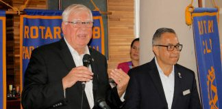 Rotary International President op bezoek in Suriname