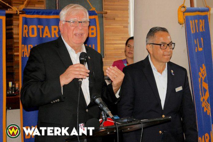 Rotary International President op bezoek in Suriname