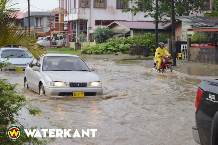 Meteorologische Dienst Suriname verwacht meer regen