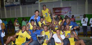 Yellow Birds is basketbalkampioen van Suriname