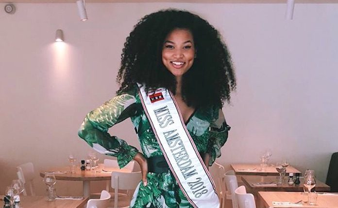 Miss Amsterdam speciale gast bij Miss Tropical Beauties Suriname
