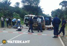 Twee mensen gedood bij overval op de weg in Suriname